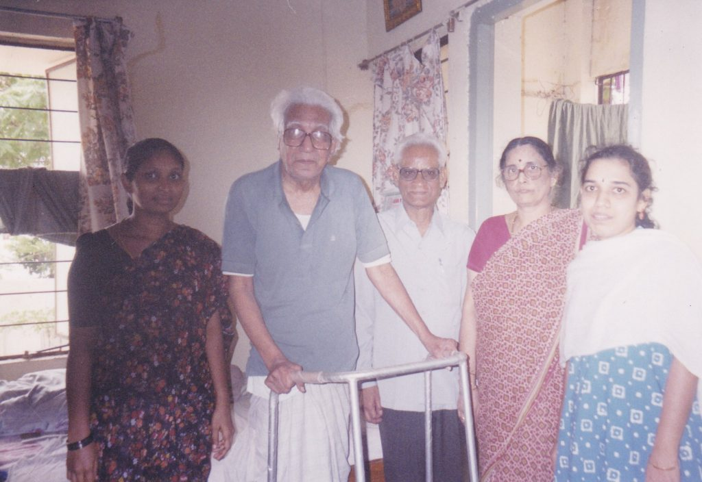 Home Care Services,a sister programme launched in 1994 for families striving to maintain seniors at home with the help of trained Bed Side Assistants