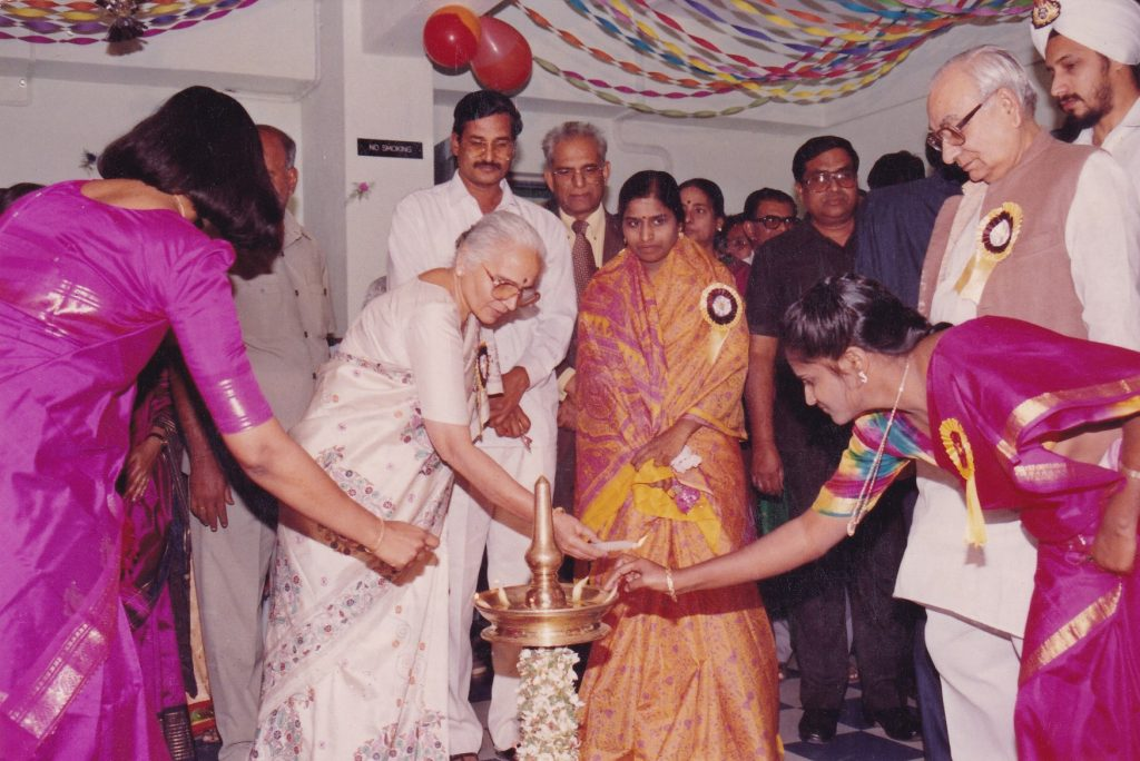 Inauguration in 1994 by Late Shri Krishna Kant,Former Vice President of India